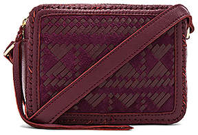Cleobella Beatrice Crossbody in Burgundy.