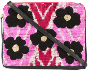 Lizzie Fortunato Jewels Flower Safari clutch