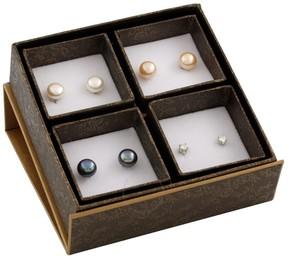 Bella Pearl Freshwater Pearl Stud Earring Set SET-Q