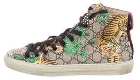 Gucci Bengal High-Top Sneakers