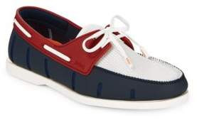 Swims Lace-Up Boat Loafers