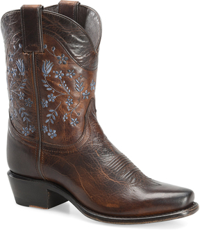 Sonora Brown Maggie Leather Cowboy Boot