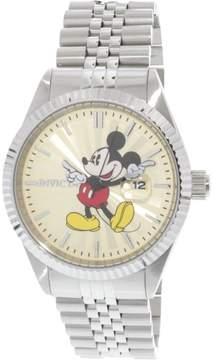 Invicta Men's Disney 22769 Silver Stainless-Steel Plated Japanese Quartz Dress Watch