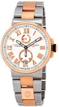 Ulysse Nardin Marine Chronometer Automatic Men's Two Tone Watch