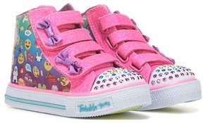 Skechers Twinkle Toes Shuffle High Top Sneaker Toddler/Preschool
