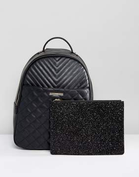 ALDO Ventea Quilted Backpack With Removeable Pouch