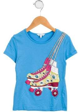Little Marc Jacobs Girls' Short Sleeve Graphic Top
