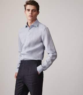 Reiss Perdu Slim Fit Linen Shirt