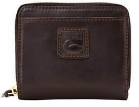 Dooney & Bourke Florentine Small Zip Around Wallet. - BLACK BLACK - STYLE
