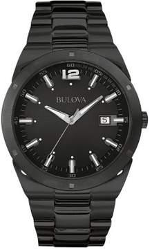 Bulova Black Quartz Analog Men's Watch 98B234