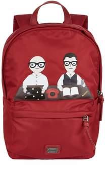 Dolce & Gabbana Icon Print Backpack