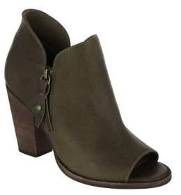 Mia Ericka Tumbled Leather Booties