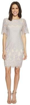 Adrianna Papell Bell Sleeve Georgia Lace Sheath Women's Dress