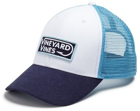 Vineyard Vines Hook Patch Trucker Hat