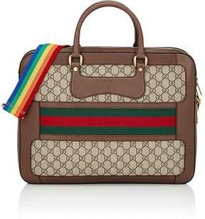 Gucci Men's GG Supreme Slim Briefcase
