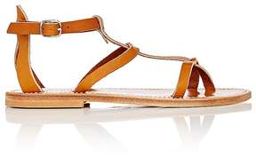 K. Jacques Women's Antioche Leather T-Strap Sandals
