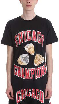 Ih Nom Uh Nit Champion Rings Black Cotton T-shirt