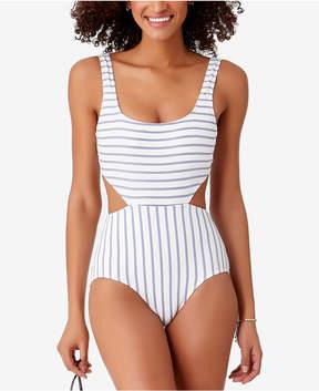 Anne Cole Studio Beach Bunny Striped Cutout One-Piece Swimsuit Women's Swimsuit
