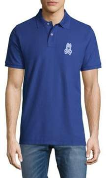 Psycho Bunny Alto Bunny Cotton Polo