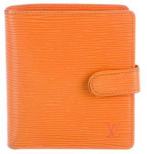Louis Vuitton Epi Porte Billets Compact Wallet - ORANGE - STYLE
