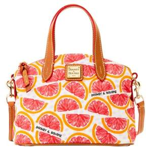 Dooney & Bourke Pomelo Ruby Bag Top Handle Bag - WHITE - STYLE