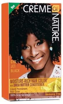 Crème Of Nature Moisture Rich Hair Color C10 Jet Black Kit