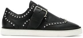 DSQUARED2 buckle studded sneakers