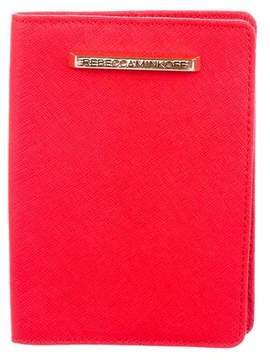 Rebecca Minkoff Leather Passport Covered - RED - STYLE