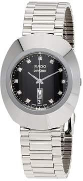 Rado Original Diastar Black Diamond Dial Men's Watch
