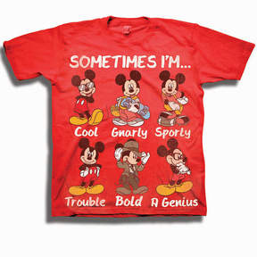 Freeze Toddler Boys Graphic Tees Mickey Mouse Graphic T-Shirt-Toddler Boys
