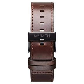 MVMT Mens Classic Series 24mm Brown Leather