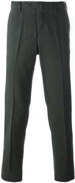 Pt01 pleated straight leg trousers