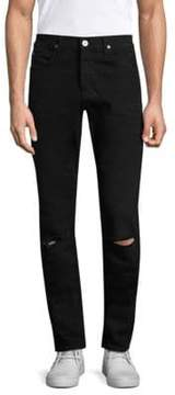 Hudson Dynamite Slim-Fit Ripped Jeans