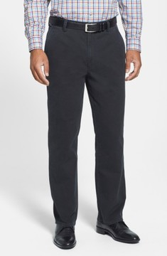 Cutter & Buck Men's Big & Tall Curtis Flat Front Five-Pocket Cotton Twill Pants