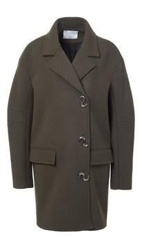 Tibi Felted Wool Oversized Coat