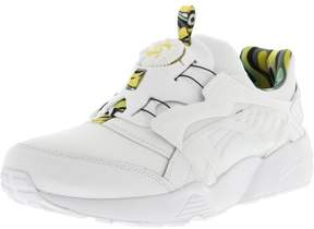 Puma Men's Disc Blaze Minions White / Minion Yellow Ankle-High Fashion Sneaker - 13M