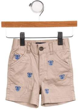 Andy & Evan Boys' Embroidered Shorts