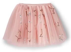 Lands' End Lands'end Girls Embellished Tulle Skirt