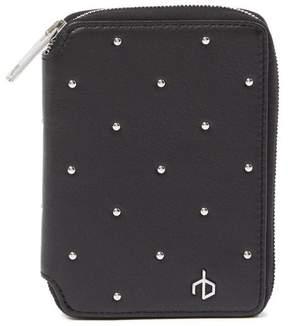 Rag & Bone Studded Leather Zip Wallet