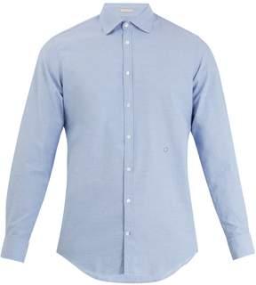 Massimo Alba Spread-collar cotton shirt