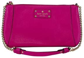Kate Spade Adela Fuchsia Leather Shoulder Bag - FUCHSIA - STYLE