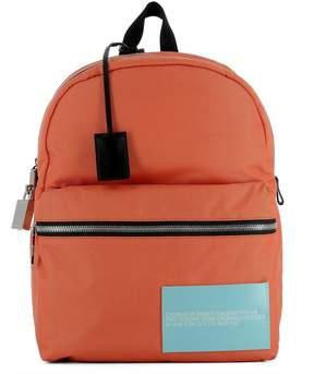 Calvin Klein Orange Fabric Backpack