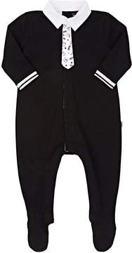 Karl Lagerfeld COTTON FOOTED COVERALL