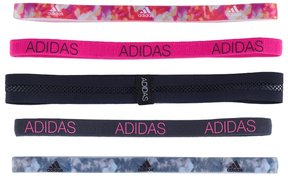 Adidas Women's Adidas Creator Plus 5-pk. Abstract & Solid Headband Set