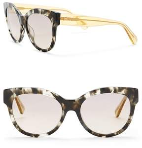 Just Cavalli Round 56mm Plastic Sunglasses