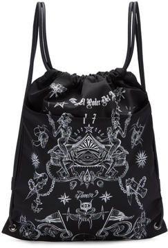 Givenchy Black Tatoo Print Rucksack