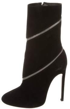 Alaia Zipper Ankle Boots w/ Tags