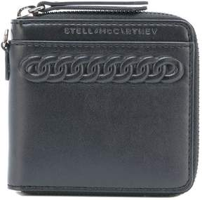 Stella McCartney embossed zip wallet