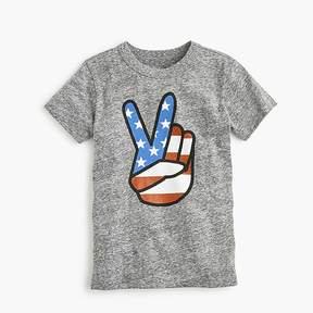 J.Crew Boys' peace sign T-shirt