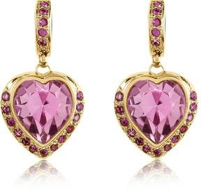 A-Z Collection Heart Drop Earrings